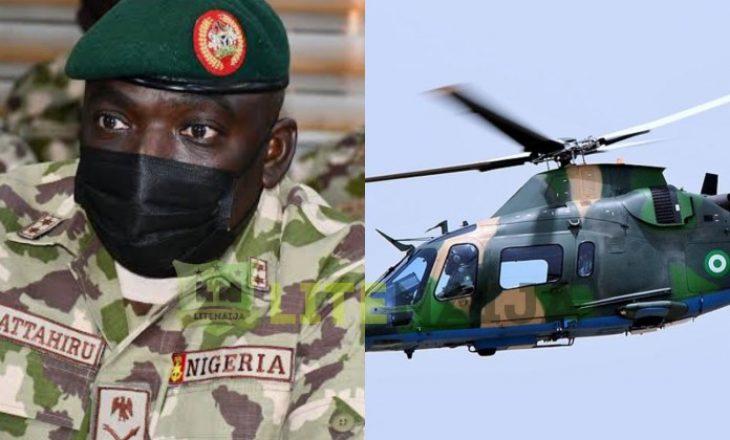 Shefi i ushtrisë së Nigerisë dhe 10 persona të tjerë mbetën të vrarë në aksident ajror