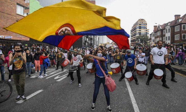 Presidenti kolumbian takohet me opozitën në lidhje me protestat që po zhvillohen në vendin amerikano-latin