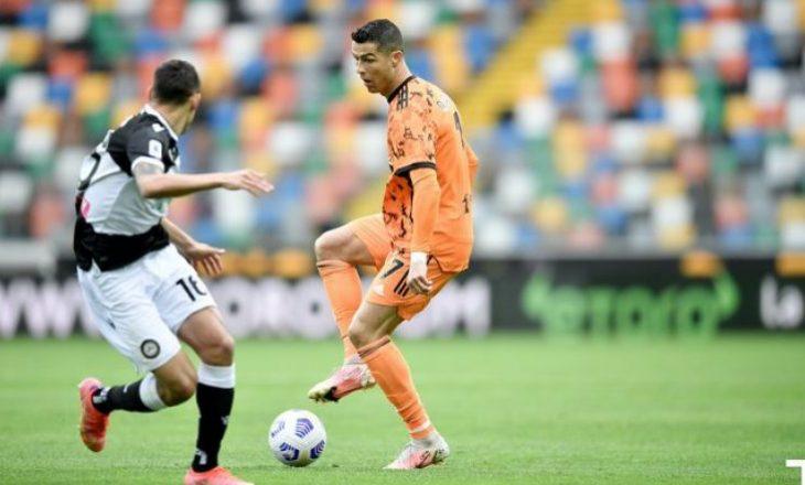 Ronaldo me dy golat e tij i siguron fitoren Juventusin në përballje me Udinesen