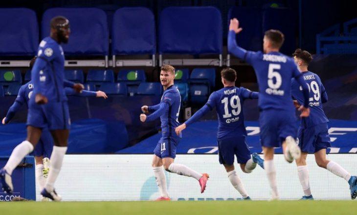 Chelsea dyfishon rezultatin, Mount autor i golit