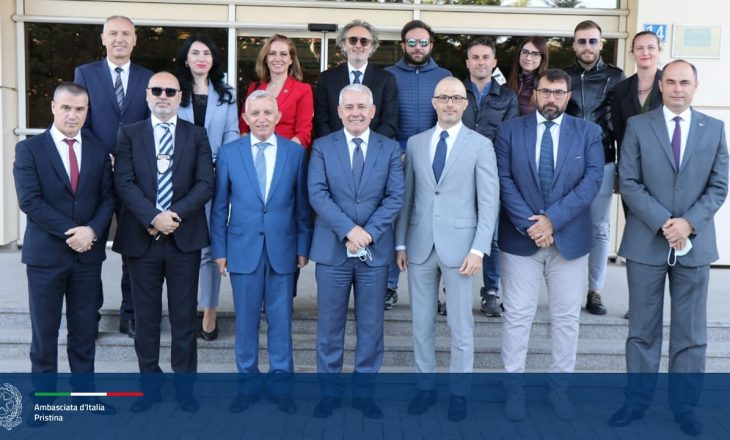 Ambasadori italian e quan sukses ndërkombëtar sekuestrimin e drogës në Lipjan