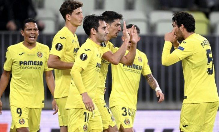 Pas 22 penalltive, Villarreal fiton finalen e Europa Leagues ndaj Manchester United