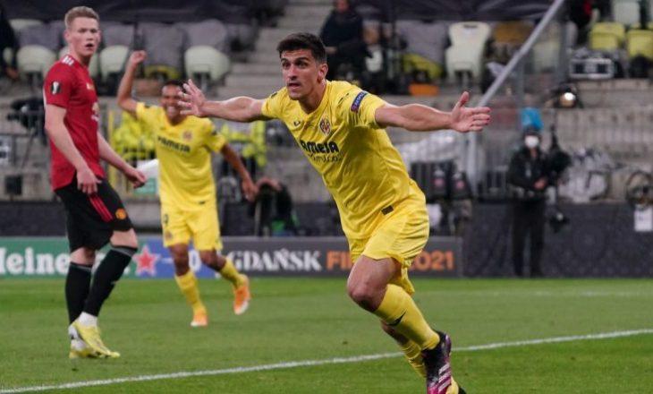 Moreno kalon Villarrealin në epërsi ndaj United në finalen e Europa League