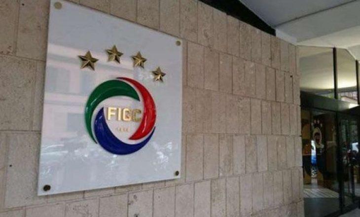Federata italiane e Futbollit i del në ndihmë klubeve që nuk kanë arritur të paguajnë lojtarët e tyre