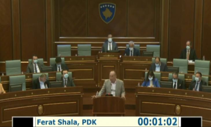 Shala: Informacioni i Insajderi.com që e ndava me deputetët në komision, bëri që sot parregullsisht të futet në rend dite emërimi i Bordit të ri të ARKEP-it