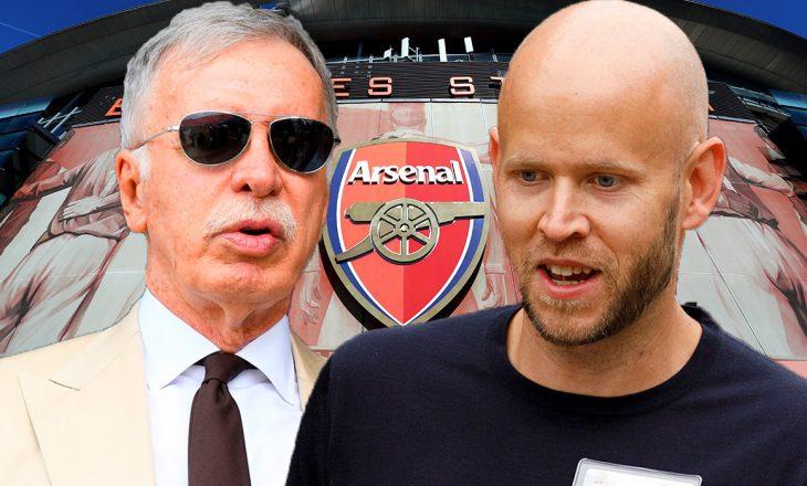 Menaxhmenti i Arsenalit nuk pranon t'a shesin klubin te suedezi Daniel Ek