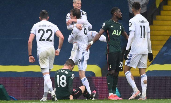 Tottenham pëson disfatën e parë nën drejtimin e Mason, Leeds United mposht londinezët