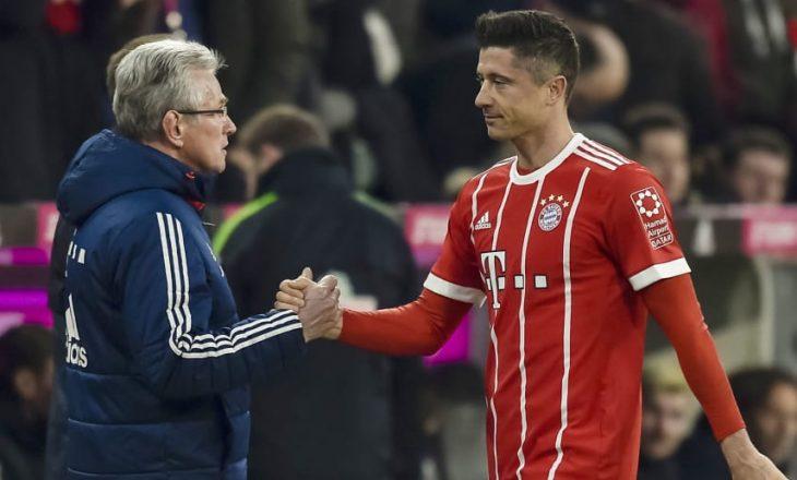 Jupp Heynckes lavdëron Lewandowskin, kujton kohën kur kishte nën urdhra polakun