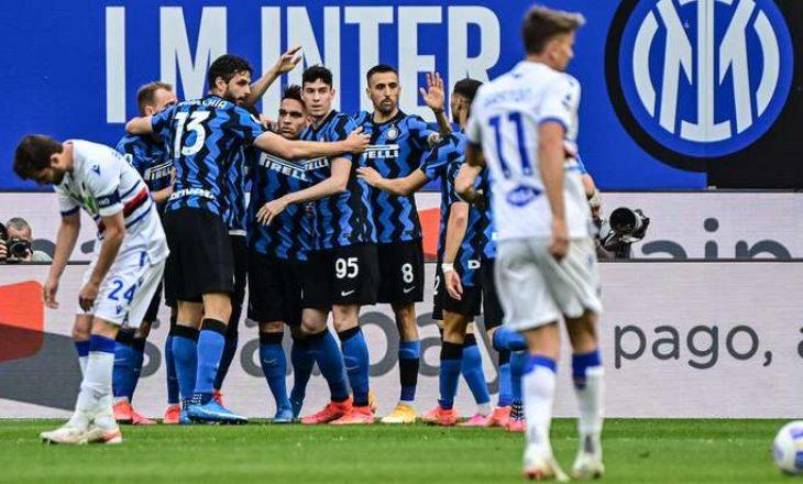 Inter mposht bindshëm Sampdorian e Ranierit