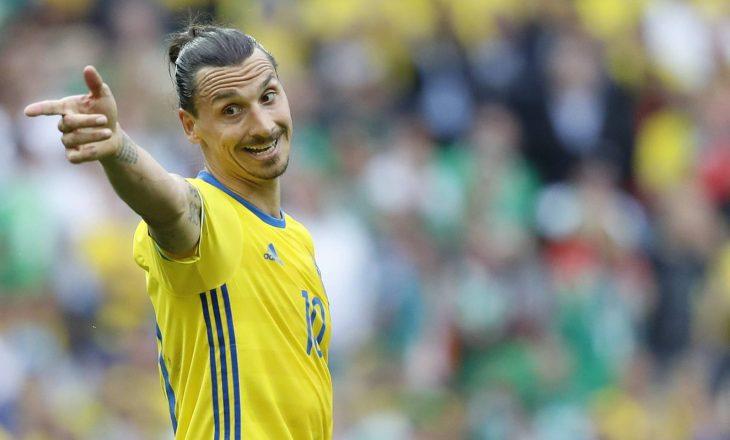 Ibrahimoviç humb Europianin me Suedinë shkaku i lëndimit