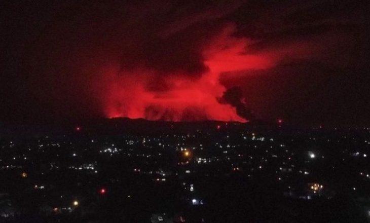 Shpërthen vullkani në Kongo – autoritetet fillojnë planin e evakuimit të banorëve