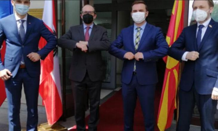 Austria, Sllovenia dhe Çekia mbështesin Maqedoninë e Veriut në kontestin me Bullgarinë