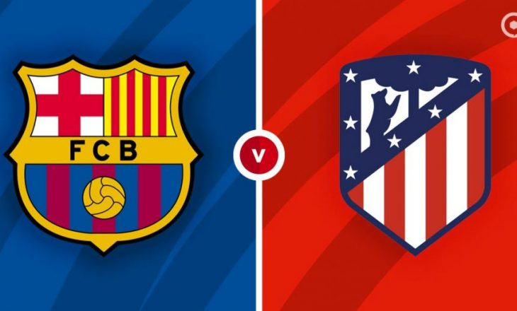 Derbi i titullit, Barcelona vs Atletico Madrid – formacionet zyrtare