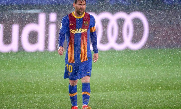 Messi dhe agjenti i tij fillojnë bisedimet me Barcelonën për rinovimin e kontratës