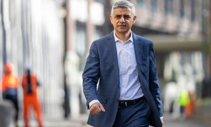 Sadiq Khan shikon rizgjedhjen si kryetar i Bashkisë së Londrës