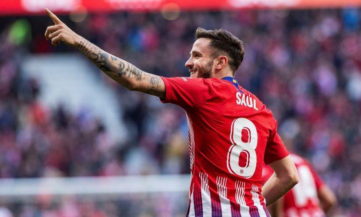 Saul kërkon largimin nga Atletico Madrid