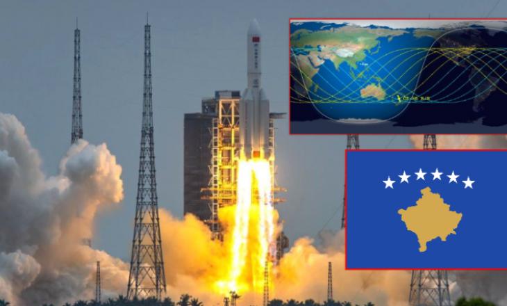 Qendra amerikane del me hartë dhe kohë të re për rënien e raketës kineze, përfshihet Kosova dhe Shqipëria