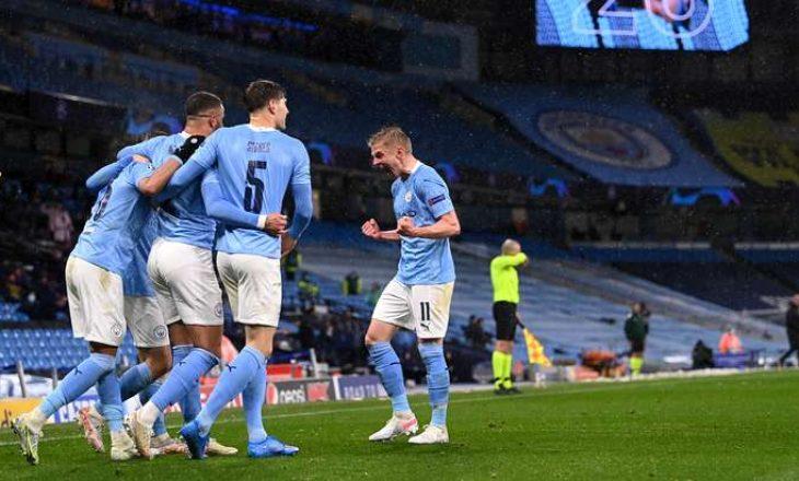 Manchester City fiton edhe ndeshjen e kthimit ndaj PSG-së, për herë të parë prek finalen e Champions League