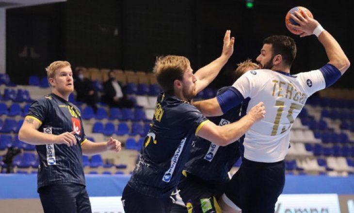 Kosova pëson humbje në ndeshjen e fundit kualifikuese për Kampionatin Evropian në hendboll nga Suedia