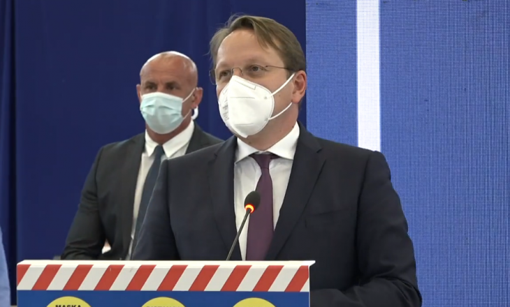 Varhelyi: Me dërgesat e para që do të vijnë në qershor, do të vaksinohen të gjithë punonjësit shëndetësorë