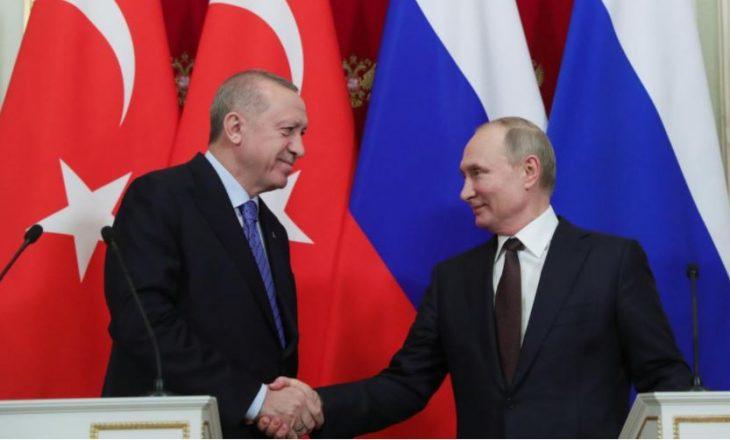 """Erdogan-Putinit: Izraelit """"duhet t'i jepet një mësim për sulmet ndaj palestinezëve"""""""