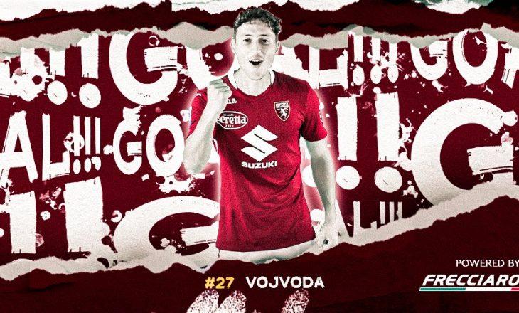Vojvoda shënon gol për Torinon në sfidën kundër Parmës në Serie A