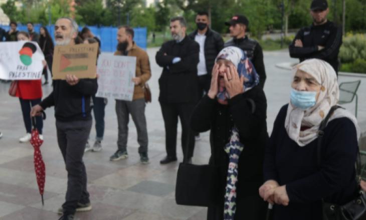 Në Tiranë protestohet në shenjë solidariteti për Palestinën