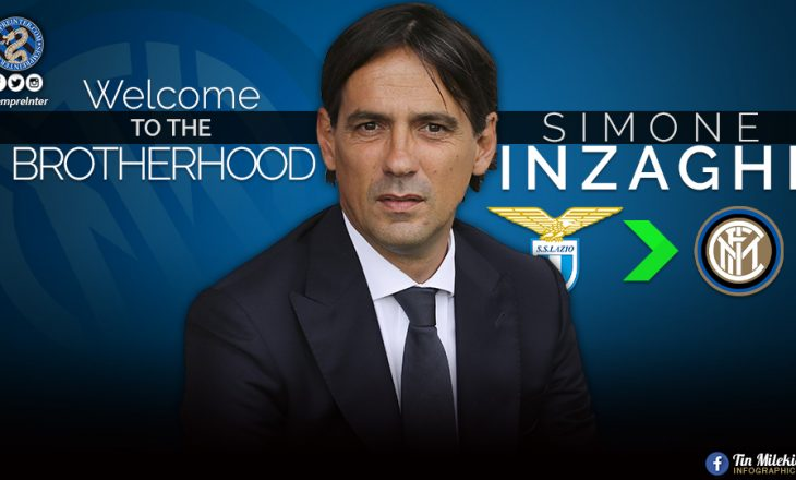Lazio reagon në lidhje me zërat se Inzaghi do t'i bashkohet Interit