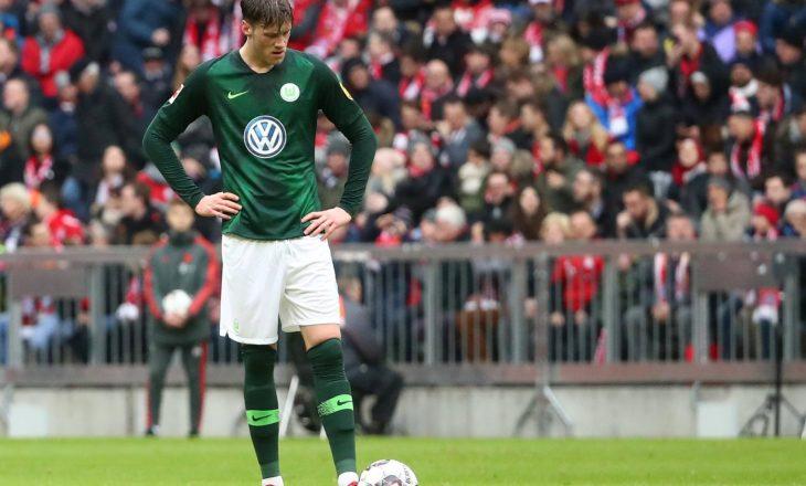 Roma vihet në gjurmët e sulmuesit holandez të Wolfsburgut
