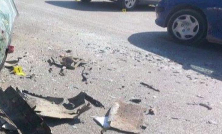 Tre të lënduar në një aksident në magjistralen Prishtinë – Podujevë