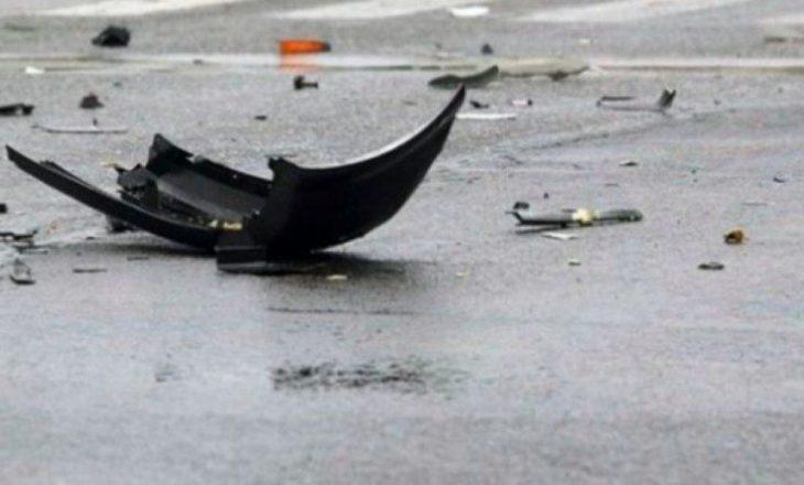 Dy të lënduar në një aksident në rrugën Graçanicë-Llapnasellë
