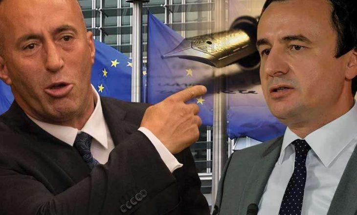 """Haradinaj e quan Kurtin """"mashtrues ordiner"""""""