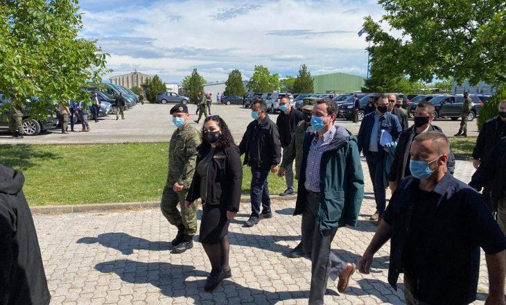 """Osmani e Kurti shohin nga afër stërvitjen e FSK-së në kuadër të """"Defender-Europe 21"""""""