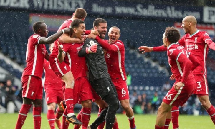 """Alisson shënon për Liverpool, """"të kuqtë"""" fitojnë ndaj West Bromit dhe mbajnë gjallë shpresat për Champions"""