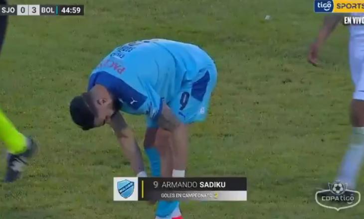 Armando Sadiku shënon dy gola për Bolivarin në Bolivi