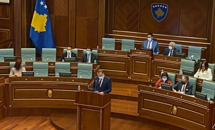 Zemaj ankohet se pozita nuk po e lejon opozitën të flasë në Kuvend