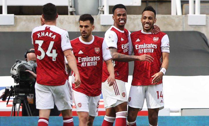 Arsenal mposht Newcastle United si mysafir