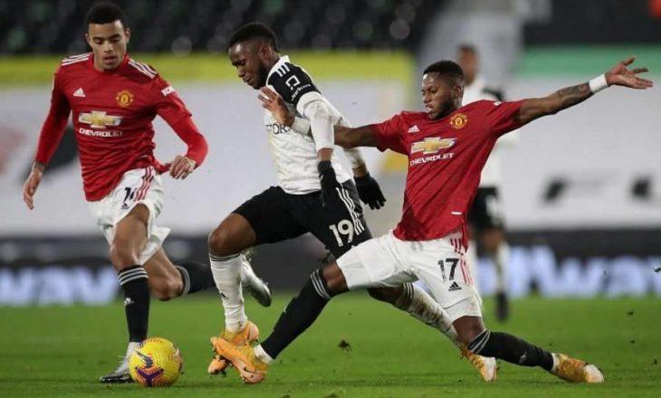 Manchester United ndalet në barazim në shtëpi me Fulhamin