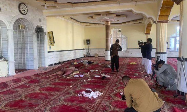 12 të vrarë gjatë një shpërthimi në xhaminë e Kabulit