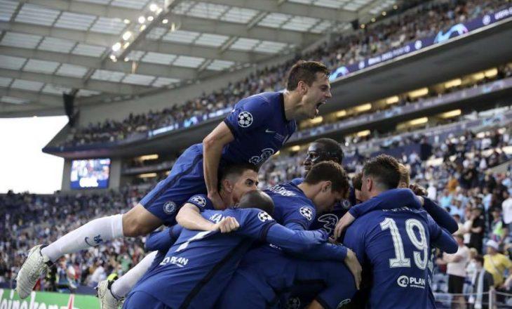 Chelsea stoliset për të dytën herë me trofeun e Champions League, mposht Cityn në finale