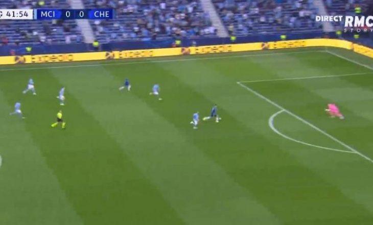 Chelsea e përfundon pjesën e parë me një gol epërsi ndaj Cityt në finalen e Championsit
