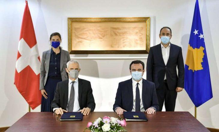 Kosova dhe Zvicra nënshkruajnë memorandum bashkëpunimi për menaxhimin e ujërave