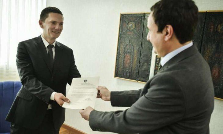 Kryeministri Kurti emëron edhe dy zëvendësministra