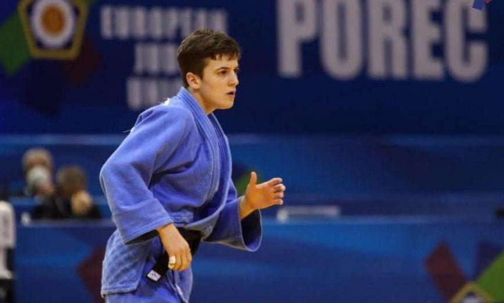 Laura Fazliu e bronztë në Zagreb të Kroacisë