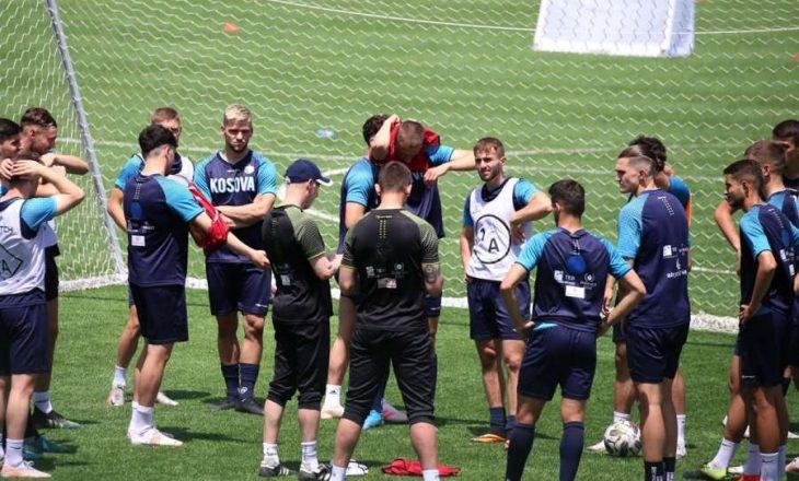 Kosova U-21 nis përgatitjet për ndeshjen me Andorrën