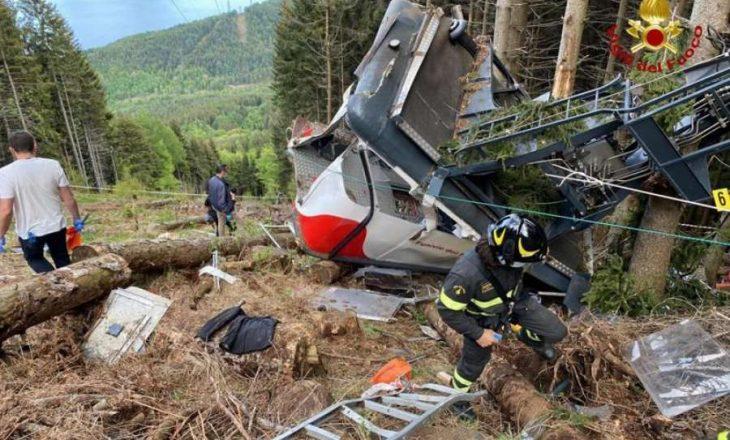 Italia heton shkaqet e aksidentit të teleferikut ku vdiqën 14 persona