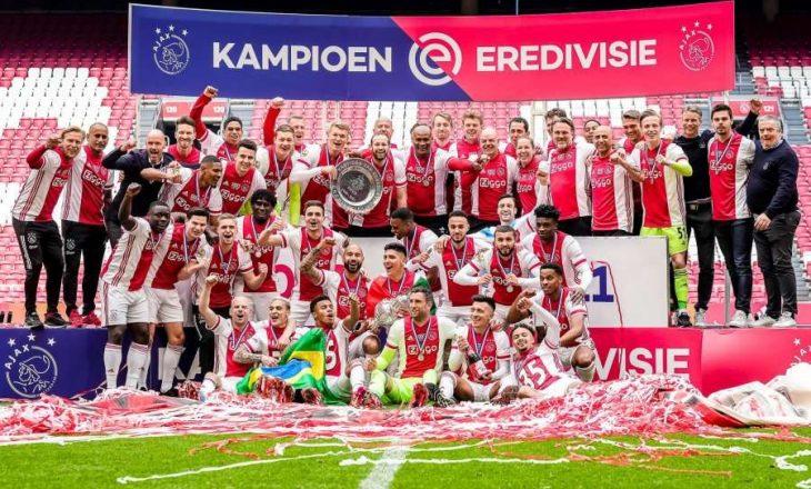 Ajax shpallet kampion i Holandës për të 35-tën herë në histori