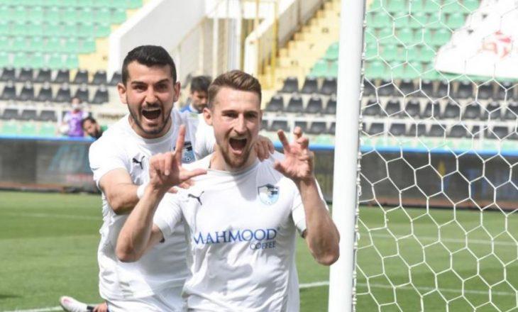 Rashani dhe Hadërgjonaj shënojnë gola në Superligën turke