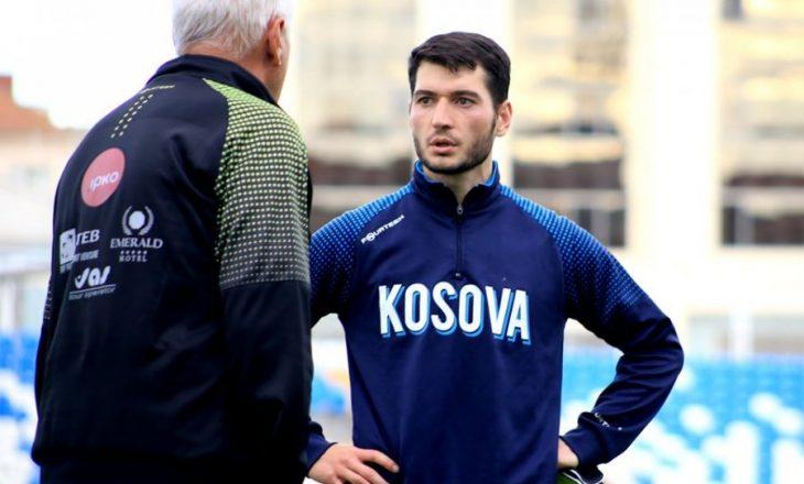 Kapiteni i parë i Kosovës, Rashkaj tërhiqet nga Përfaqësuesja