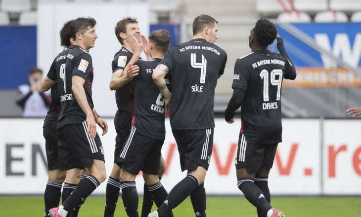 Rezultatet e takimeve të së shtunës në Bundesligë, Blendi Idrizi realizon gol për Schalken